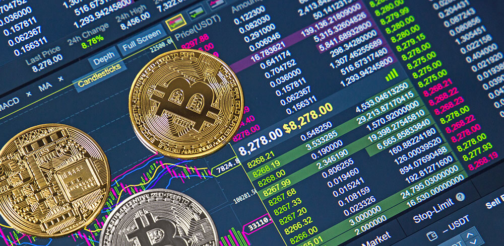 Cryptowährungen unter Kursschwankungen