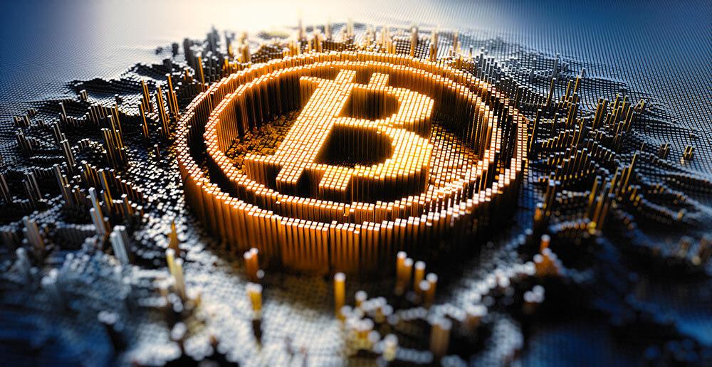 Untergang der Kryptowährungen Bitcoin