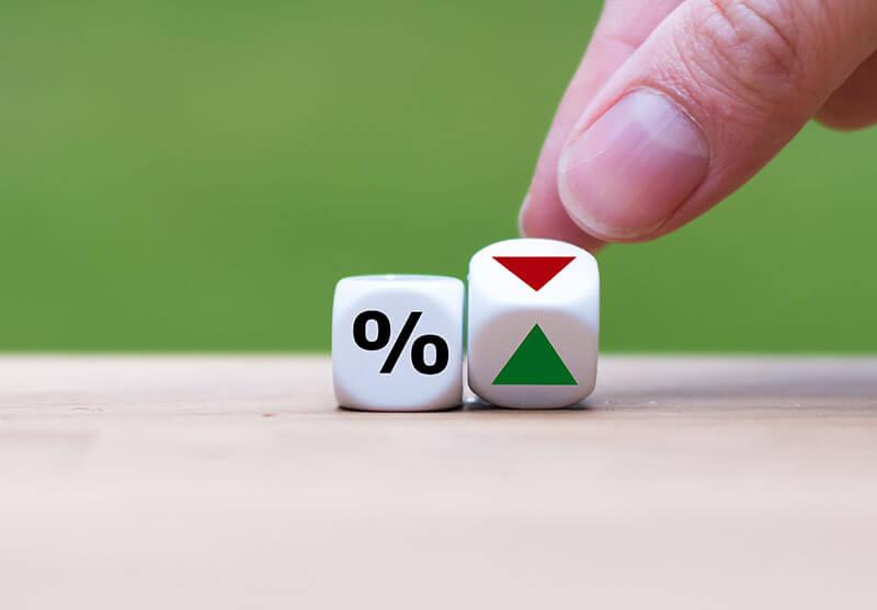 Wie sicher ist ihr Geld - Zinsen hoch oder runter