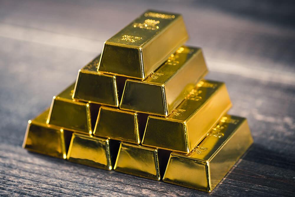 Wydler Asset Management - Es ist nicht alles Gold was glänzt - Goldstapel